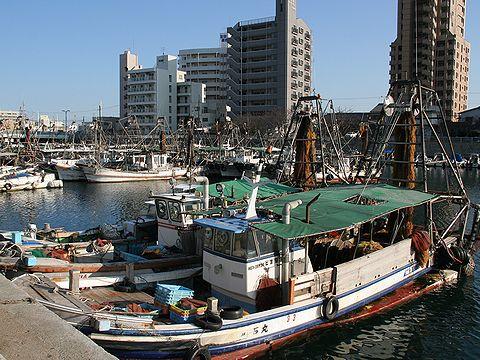 明石の台所・魚の棚を支える明石漁港/明石市