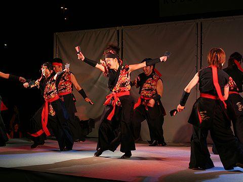 KAKOGAWA響のよさこい踊り/ルミナリエステージイベント・神戸市東遊園地