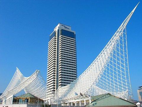 神戸メリケンパーク・海洋博物館とホテルオークラ神戸/神戸市中央区