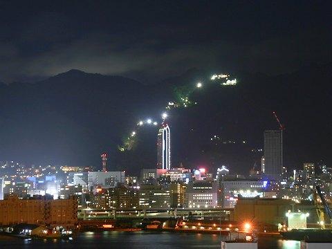 神戸夜景写真