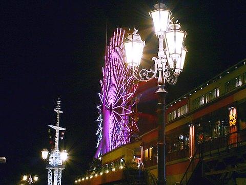神戸ハーバーランド・モザイクの夜景/神戸市中央区