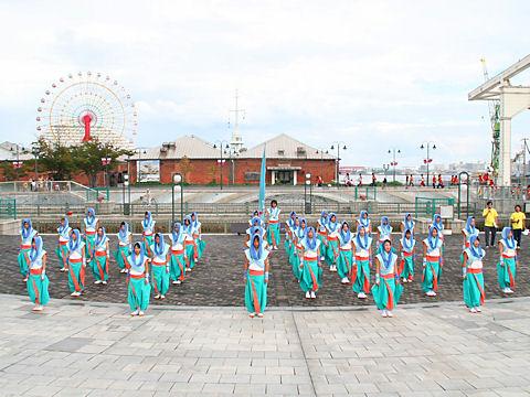 颯爽JAPAN・ハーバーランドはねっこ広場/神戸よさこい