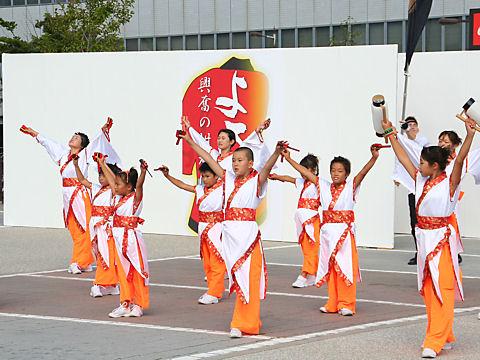 神戸学園踊り子隊・垂水駅前広場/垂水よさこい