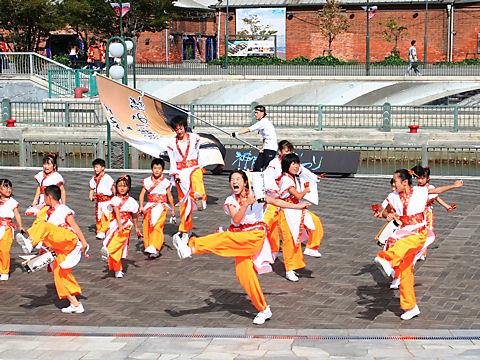 神戸学園踊り子隊・ハーバーランドはねっこ広場/神戸よさこい