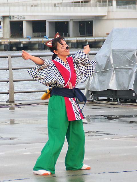 ひょうご夢雀・ハーバーランド高浜岸壁/神戸よさこい