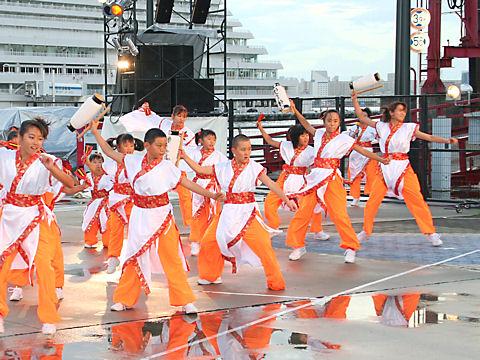 神戸学園踊り子隊・ハーバーランド高浜岸壁/神戸よさこい