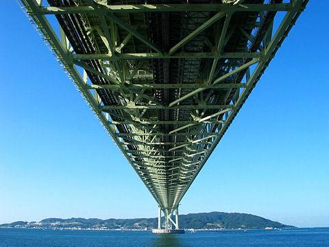明石海峡大橋/神戸市垂水区~淡路島