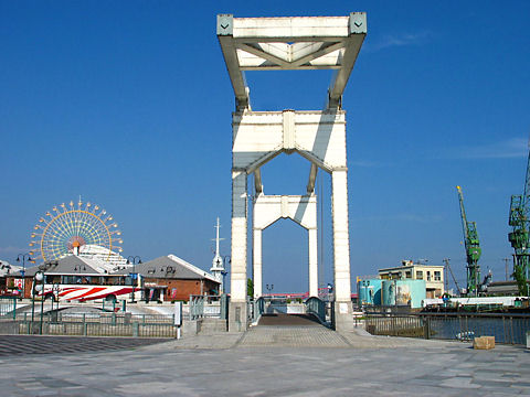 はねっこ広場と神戸ハーバーランドの風景写真/神戸市中央区