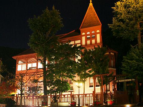 風見鶏の館ライトアップ夜景・神戸異人館/神戸市