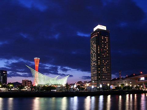メリケンパークの夜景/神戸市中央区
