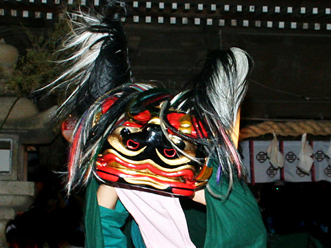 神楽獅子・稲爪神社の秋祭り獅子舞/播州の秋祭り-明石市