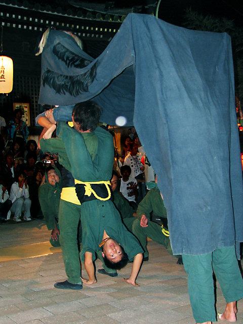 三人継ぎ獅子・稲爪神社の秋まつり獅子舞/播州の秋まつり-明石市