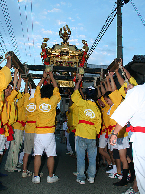 御輿渡御・明石稲爪神社の秋祭り/播州の秋祭り-明石市