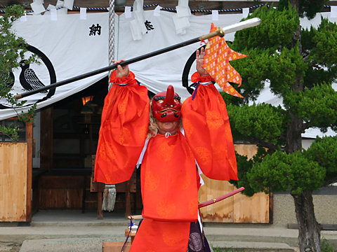 牛乗り神事と神幸祭・明石稲爪神社の秋まつり/播州の秋まつり-明石市
