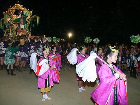 屋台練り・荒井神社秋まつり/高砂市