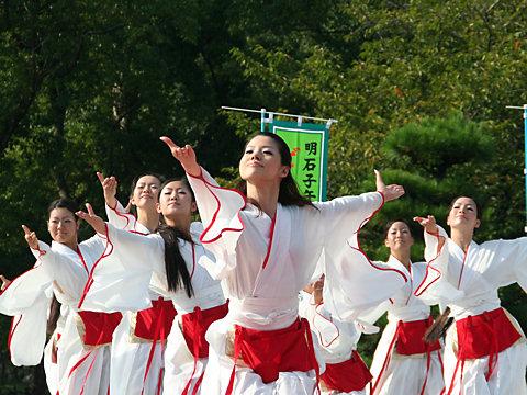 よさこい写真・明石子午線どんとこい祭り/明石市・明石公園