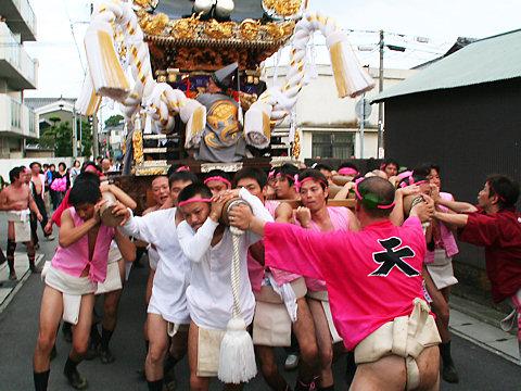 屋台巡行・浜の宮天満宮秋祭り(播州秋祭り)/姫路市