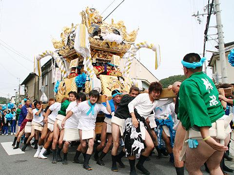 屋台巡行・湊神社秋祭り(播州秋祭り)/姫路市