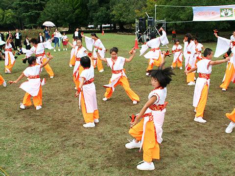 神戸学園踊り子隊・明石子午線どんとこいまつり/明石市・明石公園
