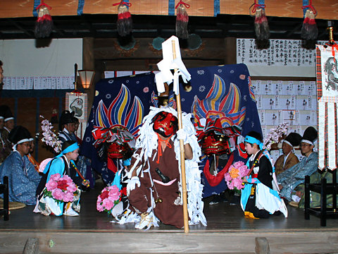 獅子舞・大避神社の秋祭り(播州秋祭り)/赤穂市