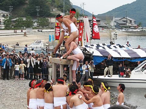 櫂伝馬と船まつり・大避神社の秋まつり(播州秋まつり)/赤穂市