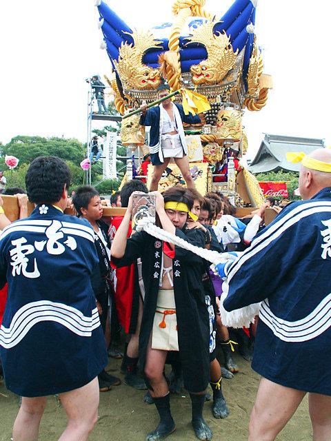 屋台練り・曽根天満宮秋祭り(播州秋祭り)/高砂市