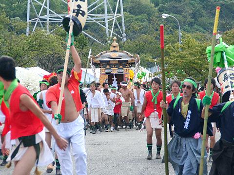 御旅山の神事・灘のけんか祭り(松原八幡神社の秋祭り・播州秋祭り)