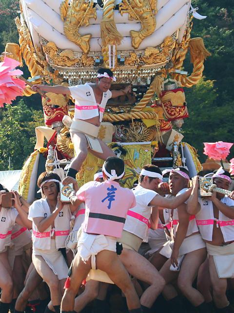 生石神社秋祭り・屋台の宮入/高砂市