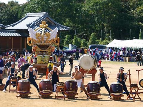 生石神社秋祭り・和太鼓/高砂市