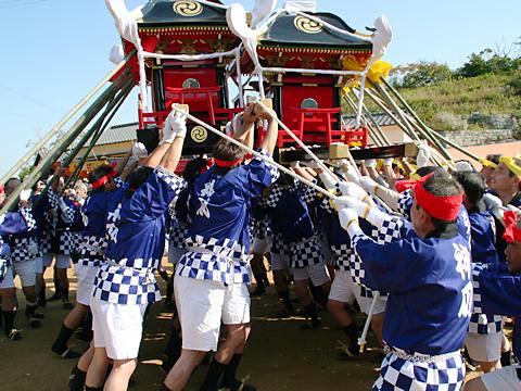 喧嘩御輿(けんかみこし)・生石神社秋祭り(播州の秋祭り)/高砂市
