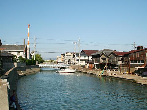 堀川運河/高砂市