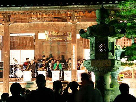 十輪寺のジャズコンサート・高砂万灯祭/高砂市