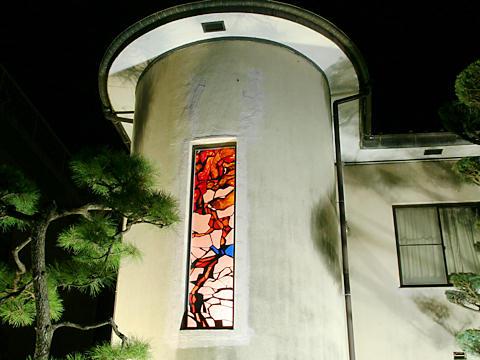 出汐館(鐘淵紡績)のライトアップ夜景・たかさご万灯祭