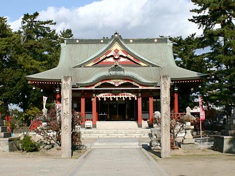 浜の宮天神社の菅公のお手植の松(播州松めぐり)/加古川市
