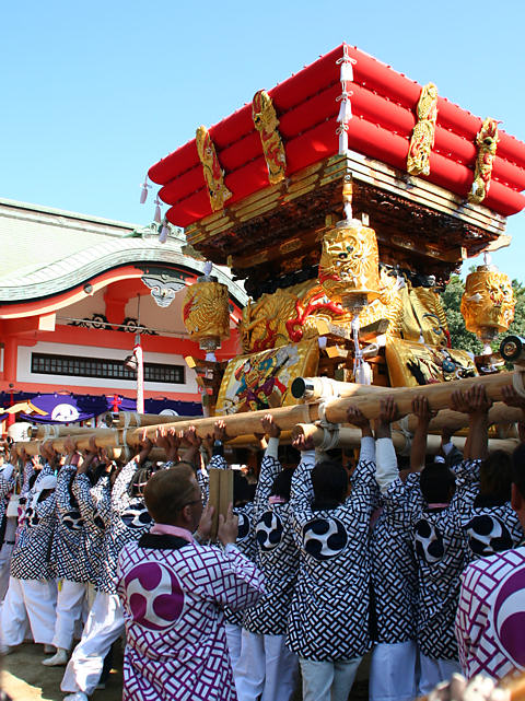 住吉神社秋祭り(播磨の秋祭り)/明石市魚住町