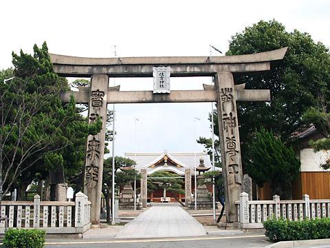 住吉神社の手枕の松(播州松めぐり)/加古川市
