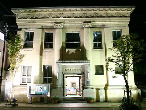 高砂商工会議所(旧高砂銀行本店)のライトアップ夜景・たかさご万灯祭