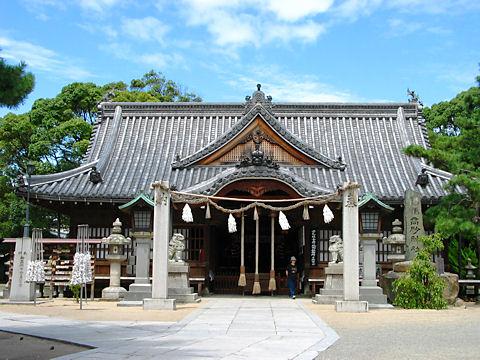 高砂神社の高砂の松相生の松(播州松めぐり)/高砂市