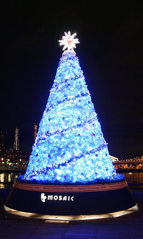 携帯待ち受け画像・クリスマスツリーの壁紙