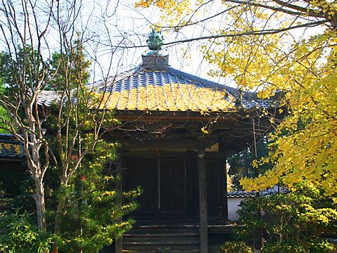法輪寺の紅葉