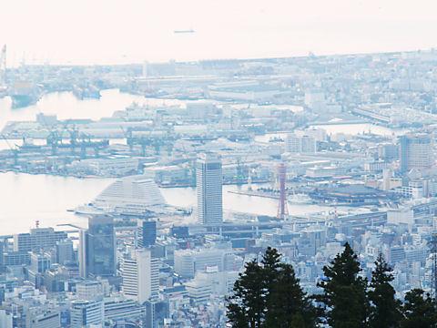 神戸港・メリケンパーク・ハーバーランドの風景