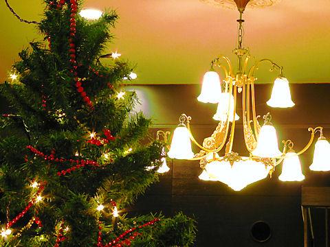 六甲山ホテルのクリスマスツリー