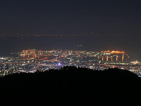 六甲アイランドの夜景
