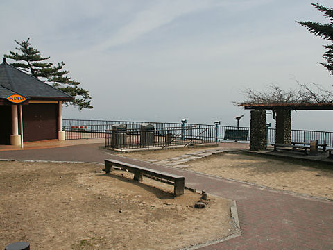 六甲山展覧台の展望台