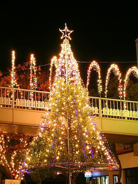 網干クリスマスイルミネーション