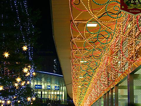 JR明石駅クリスマスイルミネーション・クリスマス夜景