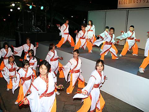 神戸学園踊り子隊