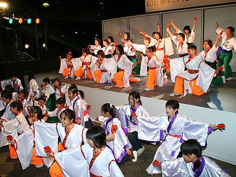 チーム真舞・SUMAヨッチョレ会・神戸学園踊り子隊・兵庫夢雀
