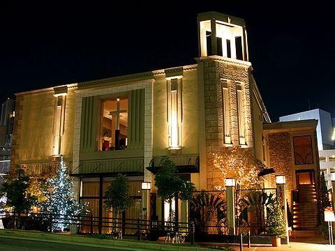 教会のクリスマス・神戸ハーバートライズチャーチ