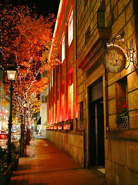 神戸旧居留地・38番館のクリスマスイルミネーション